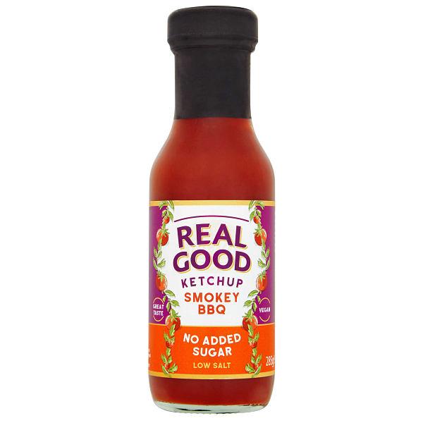 Real Good BBQ Smokey Ketchup Bottle