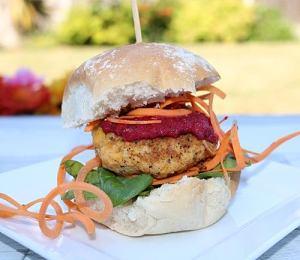 Vegan Smokey BBQ Burger
