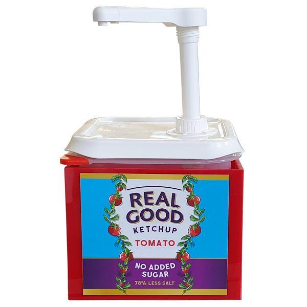Real Good Ketchup Catering Pump