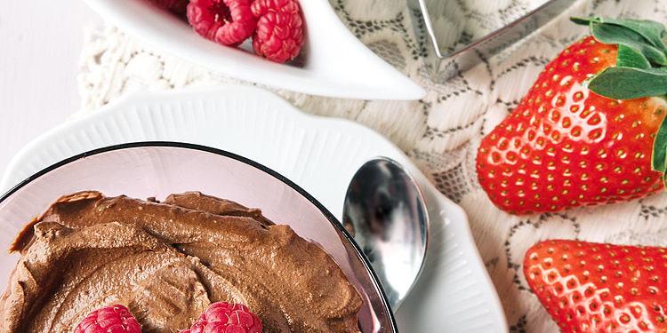 Vegan Chocolate & Avocado Mousse
